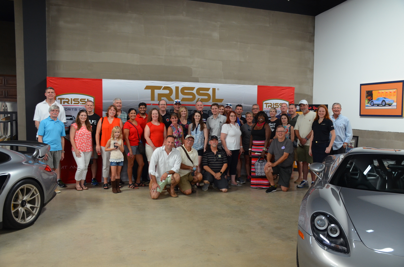 Trissl Sports Cars Fun Run